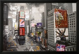 NEW YORK - Times square Aerial Prints