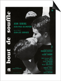 Breathless, 1960 (A Bout De Souffle) Plakát