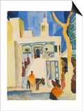 View of a Mosque Posters by August Macke
