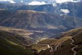 Argentina, Andes Fotografisk trykk av Barry Herman
