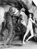 Creature from the Black Lagoon, 1954 Print