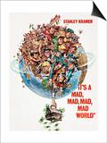 It's a Mad Mad Mad Mad World, 1963 Print