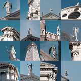 Multiple Views of Venice Photographic Print by Mike Burton