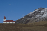 Church on Hillside, Vik, Southern Iceland Photographic Print by Natalie Tepper