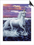 Unicorn Prints by Jenny Newland