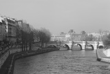 Pont Neuf over the River Seine, Paris, as Seen from the Boulevard Du Palais on the Pont Au Change Fotografisk tryk af Robert Such