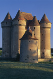 Sarzay Chateau, Pepperpot Turrets, Berry Photographic Print by Joe Cornish