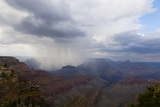 A Rainstorm in the Grand Canyon, Arizona Photographic Print by Mike Kirk