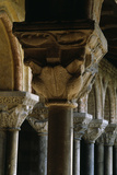 Columns at Moissac Abbey, Tarn-Et-Garonne Photographic Print by Joe Cornish