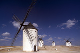 Campo De Criptana, Windmills - New Castile, Spain Photographic Print by Markus Bassler