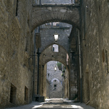 Narni, Umbria, Italy. Alley Photographic Print by Joe Cornish