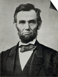 Abraham Lincoln, Head and Shoulders - Poster