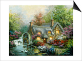 Country Retreat Art by Nicky Boehme