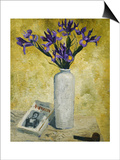 Irises in a Tall Vase, 1928 Posters by Christopher Wood