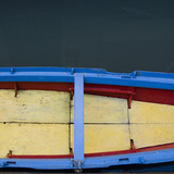 Red, Yellow and Blue Boat Photographic Print by Mike Burton