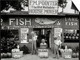 Roadside Stand Near Birmingham, Alabama Prints