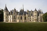 Chateau and Chapel, Meillant, Near Bourges, France Photographic Print by Sigrid Schutze-Rodemann