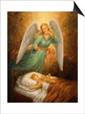 Angel 12 Prints by Edgar Jerins