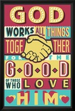 All Things Good- Romans 8:28 Print