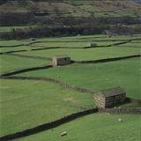 Sheepfolds, Gunnerside, North Yorkshire, England Photographic Print by Joe Cornish