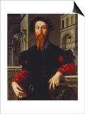 Bartolomeo Panciatichi, C. 1540 Posters af Agnolo Bronzino