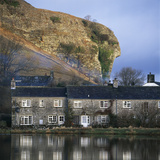 Terrace of Cottages, Wharfdale Kilnsey, North Yorkshire, England Photographic Print by Joe Cornish