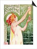 Livemont Absinthe Robette Archival Art