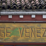 Venice Sign Language. Architectural Detail of Pantiled Roof Photographic Print by Mike Burton