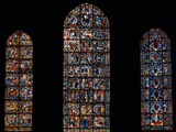 Stained Glass Window, Chartres Cathedral, France Photographic Print by Pol M.R. Maeyaert