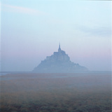 Mont-St-Michel in the Mist Normandy France Photographic Print by Joe Cornish