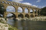The Roman Aqueduct across the River Gard Was Built in the Middle of the First Century Photographic Print by  LatitudeStock