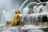 Fountain at Chateau De Versailles, France Fotografisk tryk af Clive Nichols