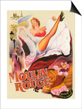 Moulin Rouge Paris Prints