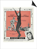 Funny Face, 1957 Print