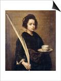 Saint Rufina Art by Diego Velázquez