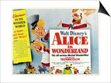 Alice in Wonderland, 1951 Print
