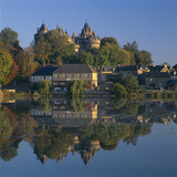 Combourg and Chateau, Brittany. Overall Exterior Photographic Print by Joe Cornish