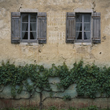 Shuttered Windows Auxonne-Les Petit France Photographic Print by Joe Cornish
