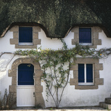Thatched Cottage with Blue Shutters, Grand Briere, Brittany Photographic Print by Joe Cornish