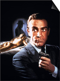 007, James Bond: Goldfinger, 1964 Prints
