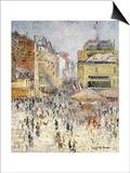 Bastille Day on Rue De Clignancourt, Paris Prints by Gustave Loiseau