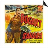 Sahara, 1943 Plakater