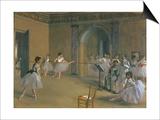 Le Foyer De La Danse a L'Opera De La Rue Le Peletier, 1872 Prints by Edgar Degas