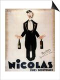 Nicolas Fines Bouteilles Print