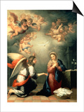 The Annunciation, 1655-65 Posters by Bartolomé Estéban Murillo