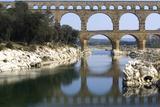 Pont Du Gard, Roman Aqueduct from Ad 1st Century, Near Vers, Gard, France Photographic Print by Natalie Tepper