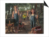 Summer Snapshot Prints by Bob Byerley