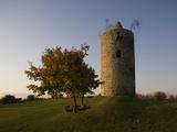 A Medieval Watchtower, Langeneichstadt, Saxony-Anhalt, Germany Photographic Print by Sigrid Schutze-Rodemann