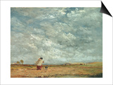A Windy Day, 1850 Posters by David Cox