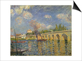 The Bridge, 1871 Poster by Alfred Sisley